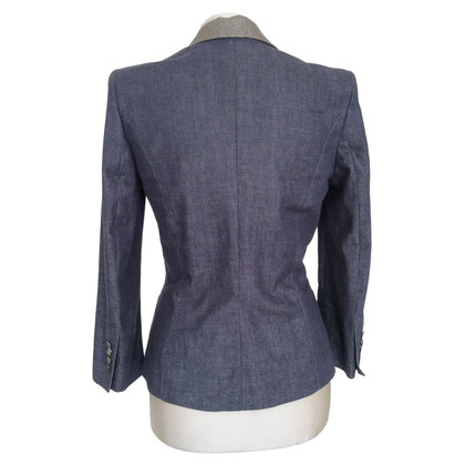 Drykorn Blazer with silver colored collar