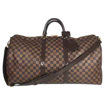 "Louis Vuitton ""Keepall 55 Damier Ebene Canvas"""