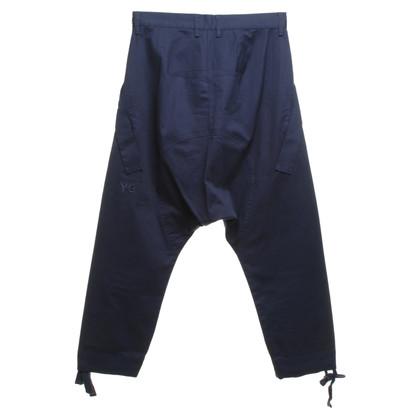 Y-3 Pantaloni in Blue