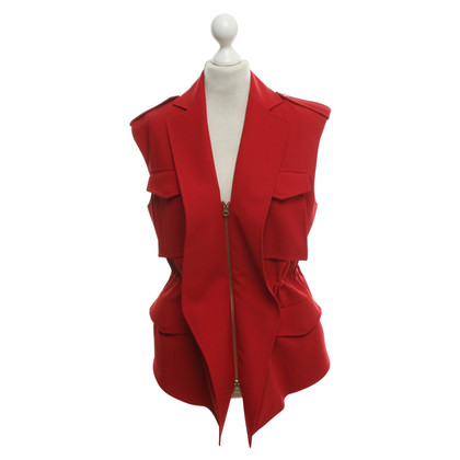 Acne Vest in red