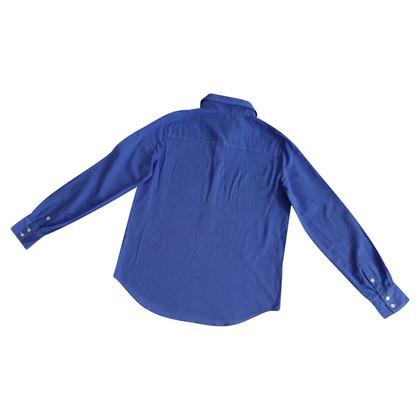 J. Crew camicetta blu in viola
