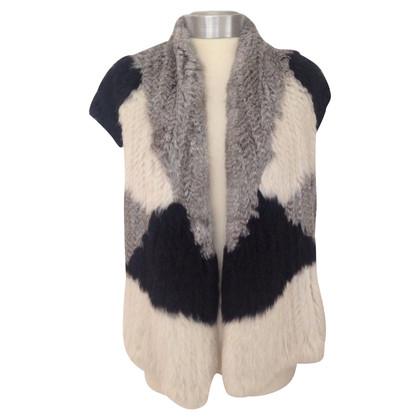 Vince Rex Rabbit Fur Vest
