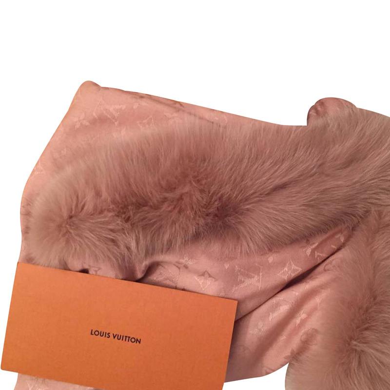 Louis Vuitton Pelz-Schal ...