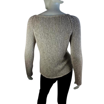 Luisa Cerano Knitted pullover in beige