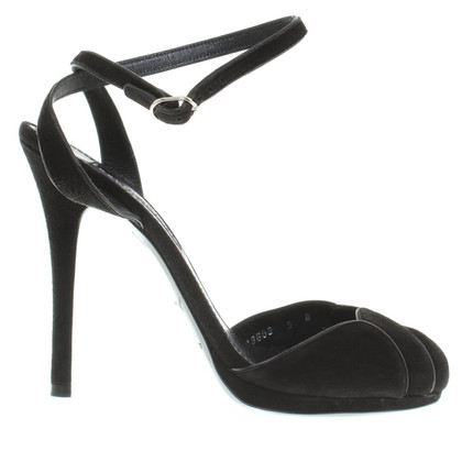 Ralph Lauren Peep-toes in black