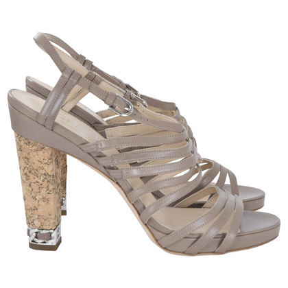 Chanel Sandals in taupe