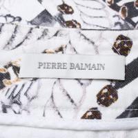 Pierre Balmain Jupe Jean imprimé