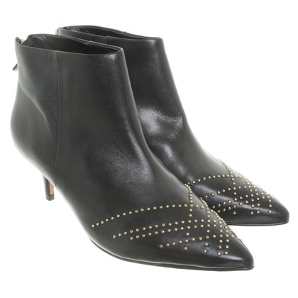 Reiss Ankle boots with studs