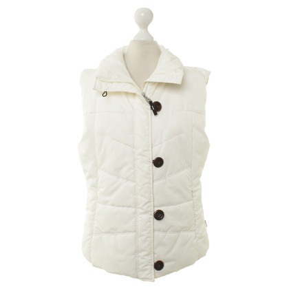 Bogner Quilted vest in cream