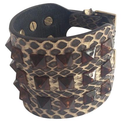 Valentino Snakeskin Bracciale