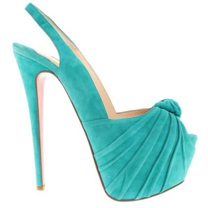 Christian Louboutin Peep-toes Suede