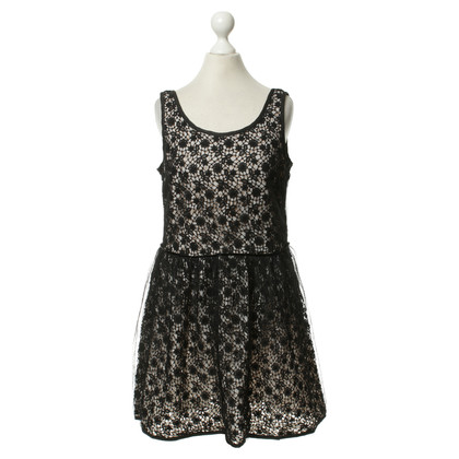 Red Valentino Lace dress in black