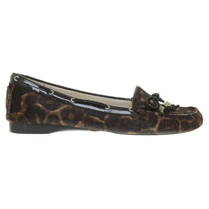 Michael Kors Fellballerinas met Leoprint