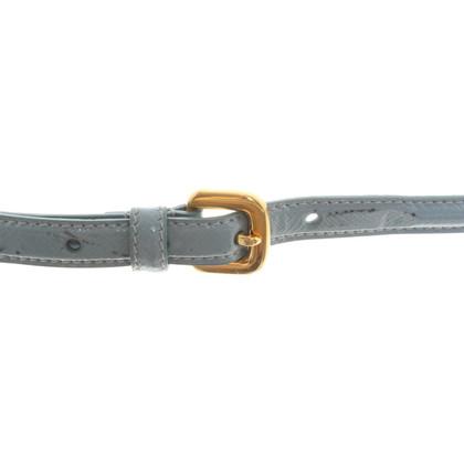 Prada Belt in light blue