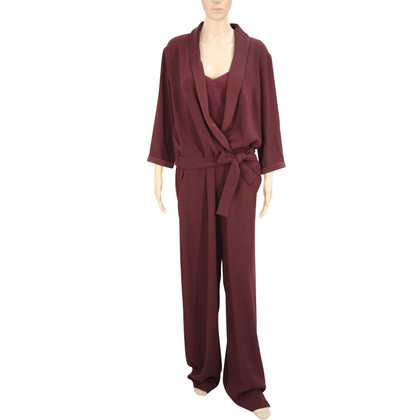 Max & Co Jumpsuit in Bordeaux