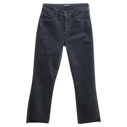 Mother Pantalon en gris foncé