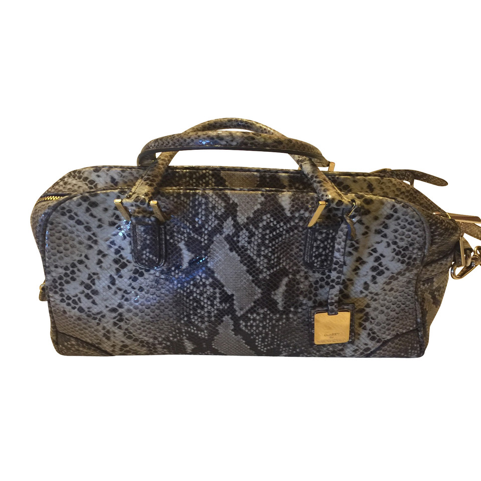 Marina Rinaldi Handbag in reptile leather look