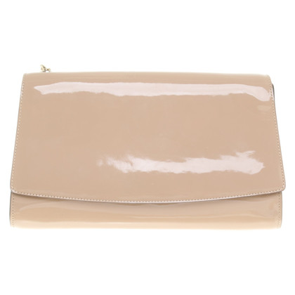 Sergio Rossi Patent leather clutch