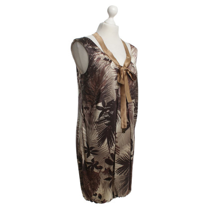 Elisabetta Franchi Silk dress with pattern