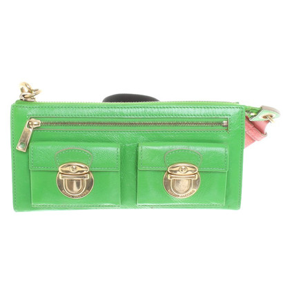 Marc Jacobs Clutch in Neongrün