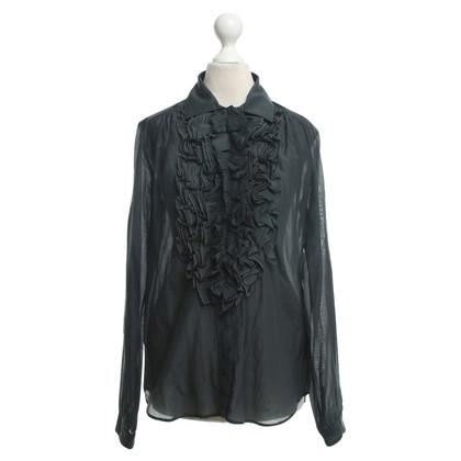 Etro Dark gray blouse