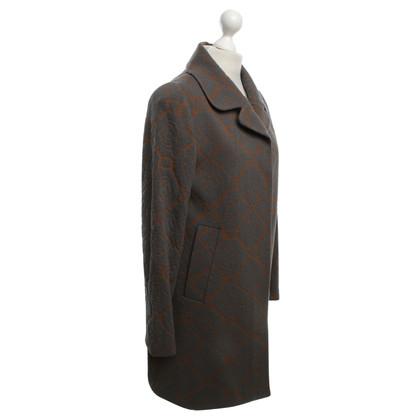 René Lezard Coat with pattern