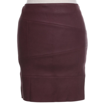 Drome skirt made of leather