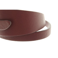 Tod's Auberginefarbenes Wickelarmband