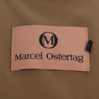 Marcel Ostertag Oversized jurk in oker