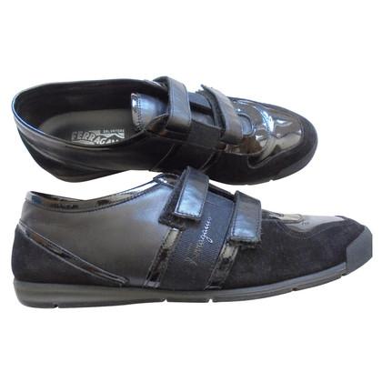 Salvatore Ferragamo Sneakers in Schwarz