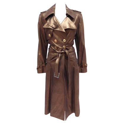 Christian Dior Leather coat in copper colors