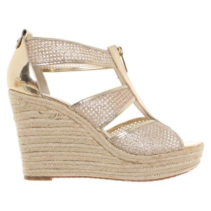 Michael Kors Golden sandals