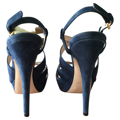 Miu Miu Sandaletten aus Leder