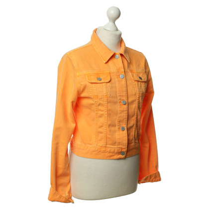 J Brand Denim jacket in Orange