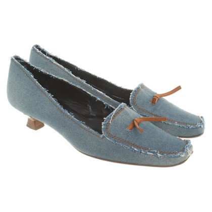 Moschino Jeans-pumps in light blue