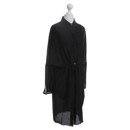 Acne Blouses jurk in zwart