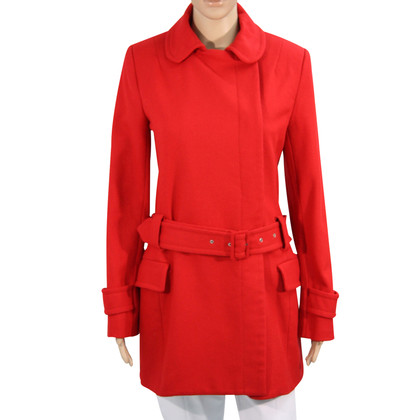 French Connection Cappotto in lana in rosso