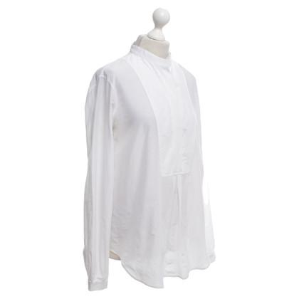 Gucci Tunika-Bluse in Cremeweiß