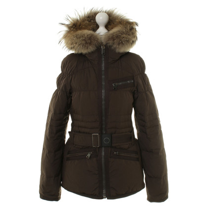 Napapijri Down jacket in Brown