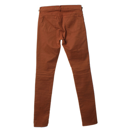 J Brand Jeans in rosso marrone