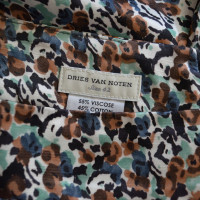 Dries van Noten skirt with print