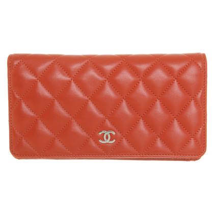 Chanel Wallet in orange