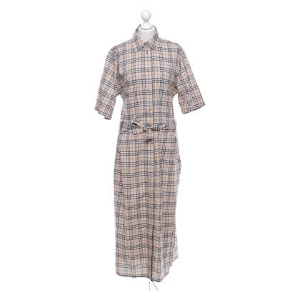 Burberry Blusenkleid mit Nova-Check-Muster