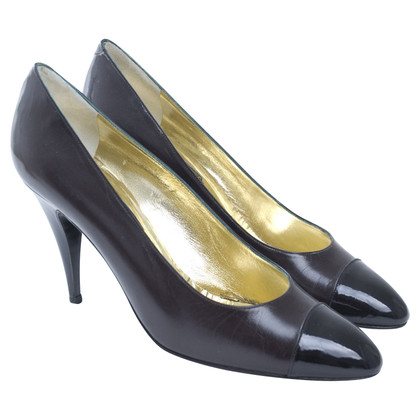 René Caovilla pumps in brown/black