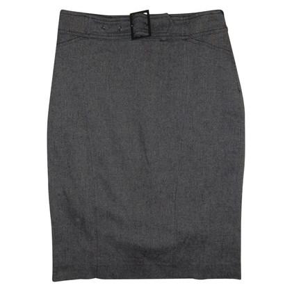 Versace skirt of silk and wool