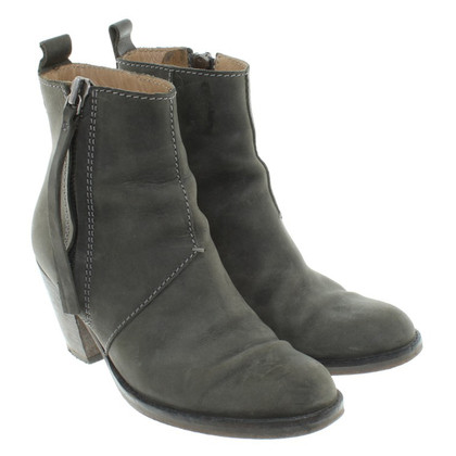 Acne Ankle boots in green