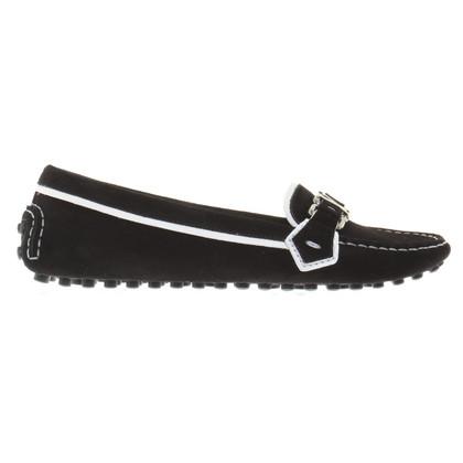 Louis Vuitton Loafer aus Wildleder