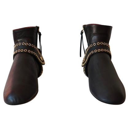 Isabel Marant Leather ankle boots