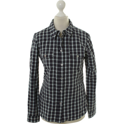 Armani Jeans Blouse with plaid pattern