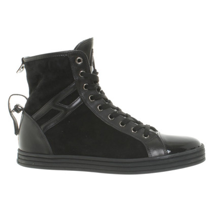 Hogan High-top sneakers suede